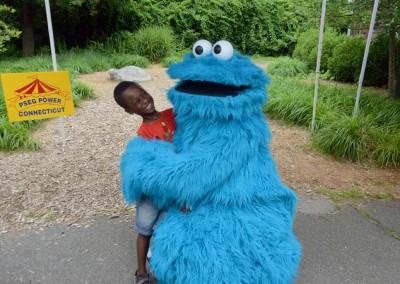 Barnum Fest Wing Ding 2015PSEG Cookie Monster
