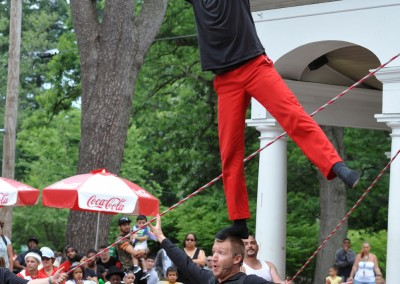Barnum Fest Wing Ding 2015Red Trousers