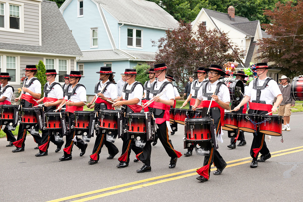 """The Great Street Parade <br> <span class=""""event-date"""">June 26</span>"""