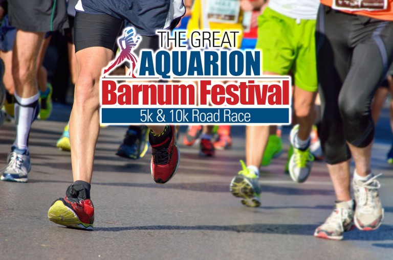 "The Great Aquarion Barnum Festival Road Race <br> <span class=""event-date"">May 29</span>"