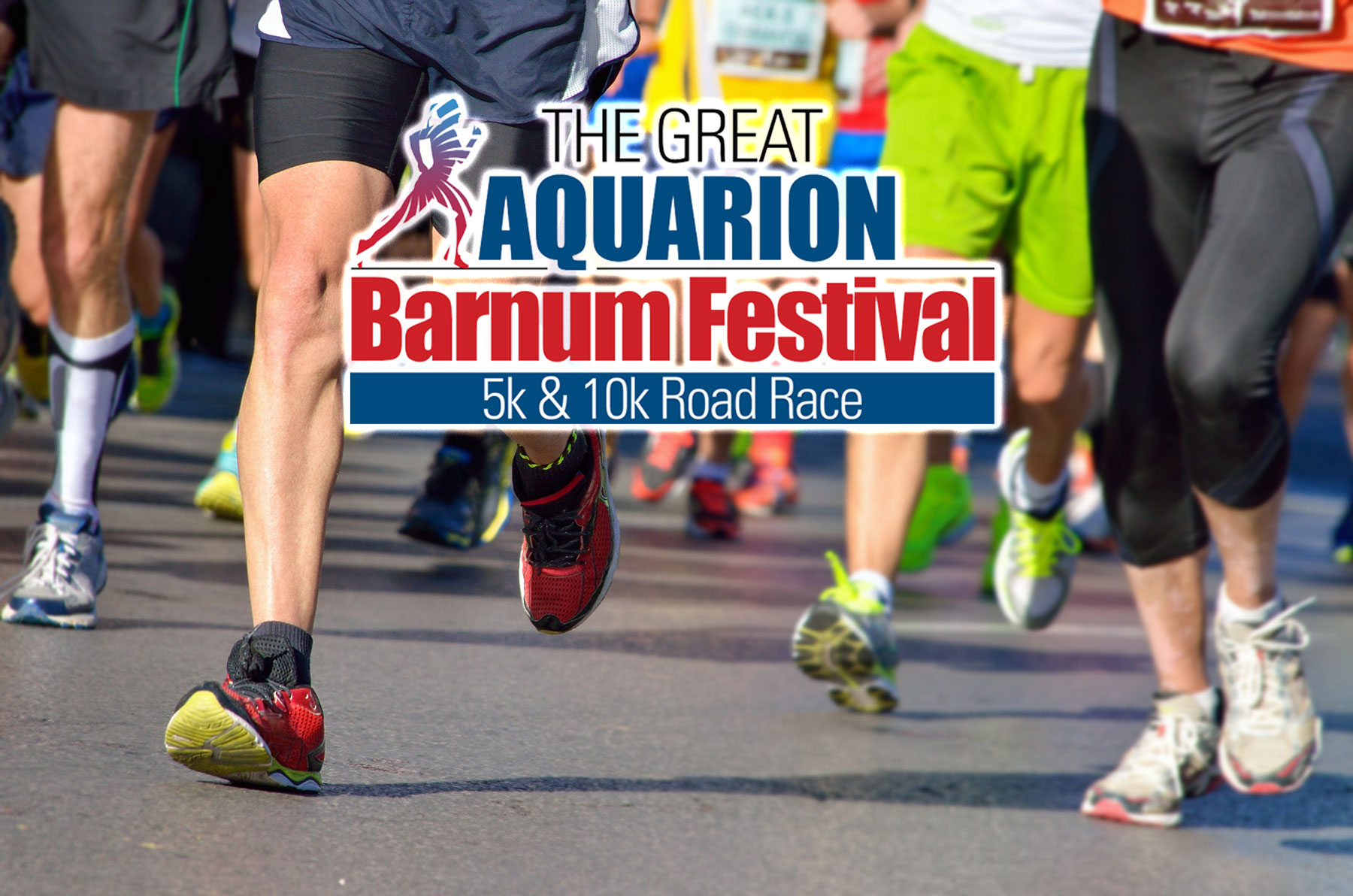 """The Great Aquarion Barnum Festival Road Race <br> <span class=""""event-date"""">May 29</span>"""