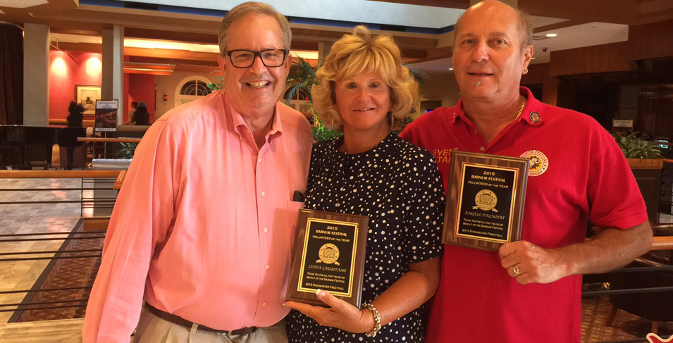 Fairfield and Stratford Residents Named Barnum Festival Volunteers of the Year