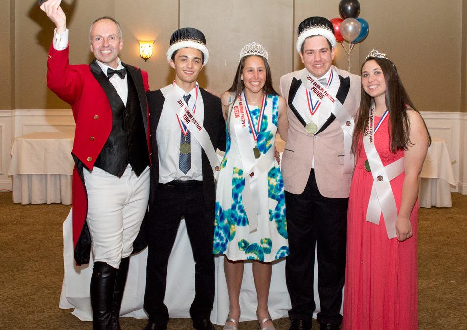2016 Barnum Festival Royal Court Chosen